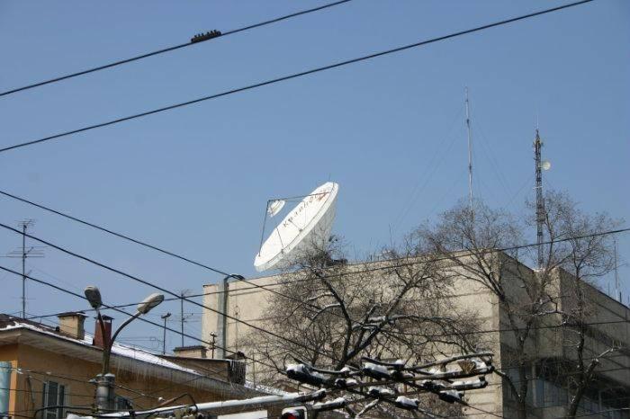 Антенна VSAT Ku-Band Andrew диаметром 3,7 м